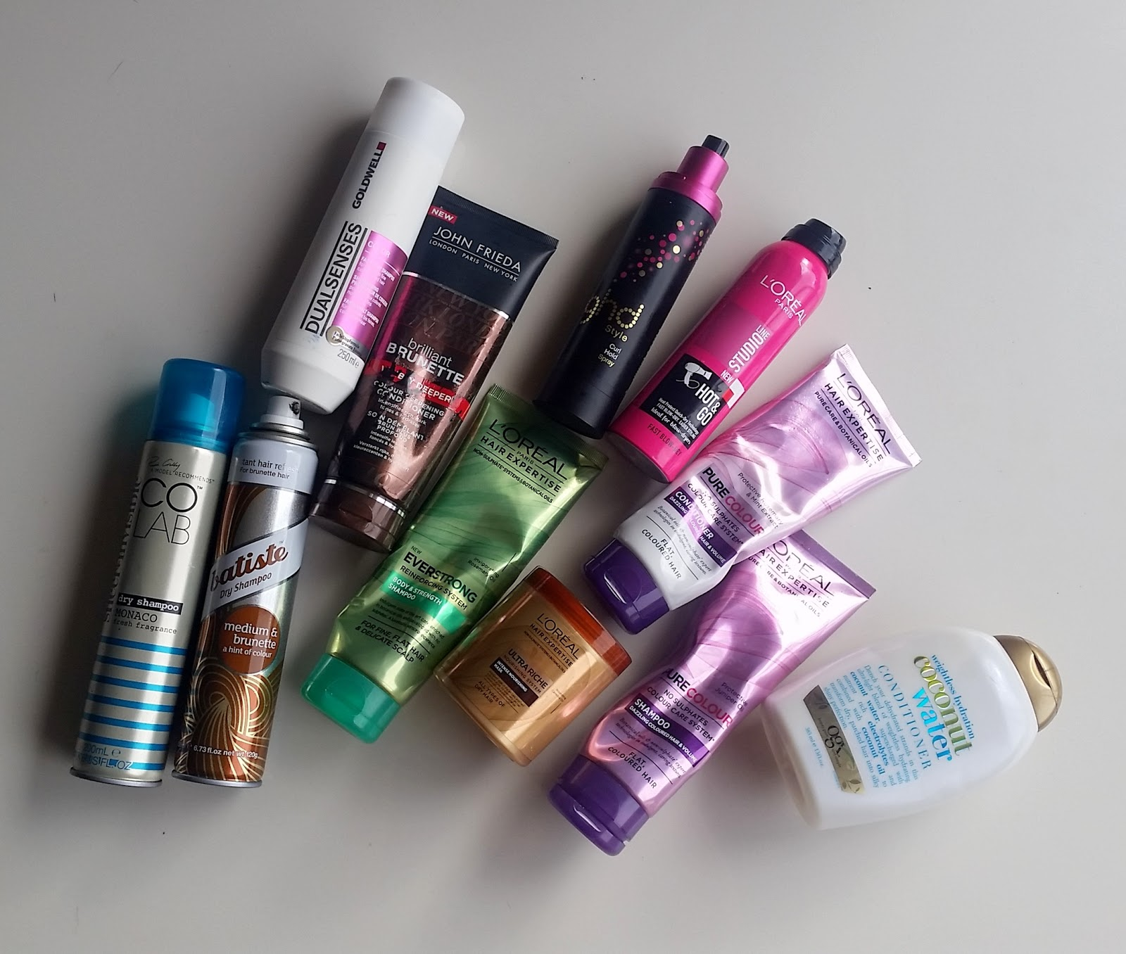 EMPTIES – Hair care, Sugar & Spice