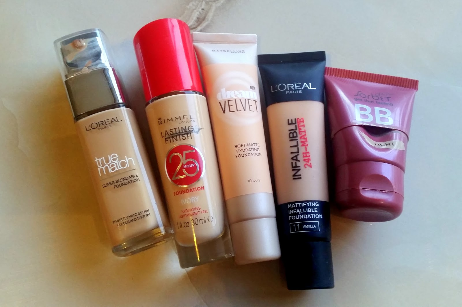 TOP 5 TUESDAY – Drugstore foundations, Sugar & Spice