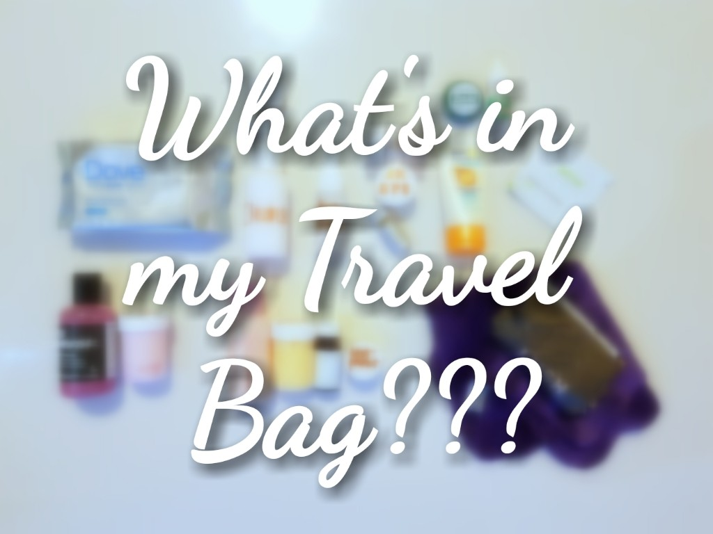 What's in my travel bag??, Sugar & Spice