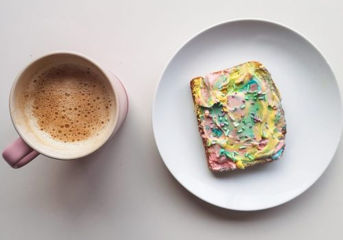 NIBBLES: Unicorn Toast