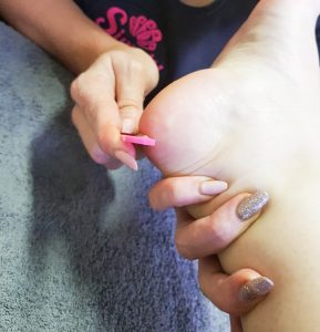 Spalicious pampering pedi at Simply Tipped, Sugar & Spice