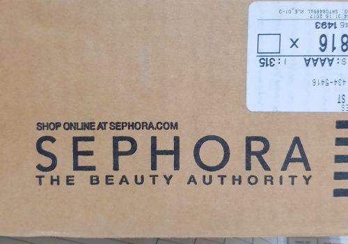 How I placed an order from Sephora using Postbox Courier