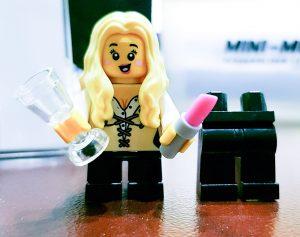 My Mini-Me personalised lego lady, Sugar & Spice