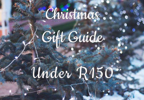 CHRISTMAS GIFT GUIDE: Stocking Filler (under R150)