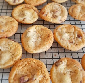 NIBBLES: The world's best Chocolate Chip Cookies, Sugar & Spice