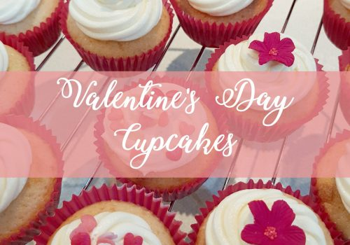 NIBBLES: Valentine's Day Cupcakes