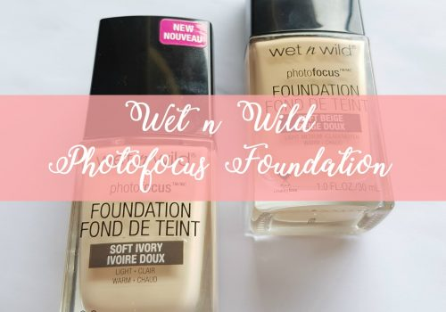 TESTED: Wet n Wild Photofocus Foundation