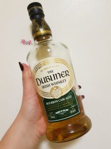 Hitting the sauce with The Dubliner Irish Whiskey, Sugar & Spice