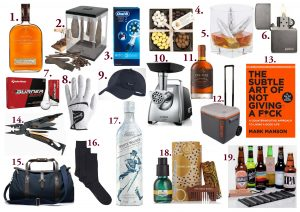 GIFT GUIDE – For Him, Sugar & Spice
