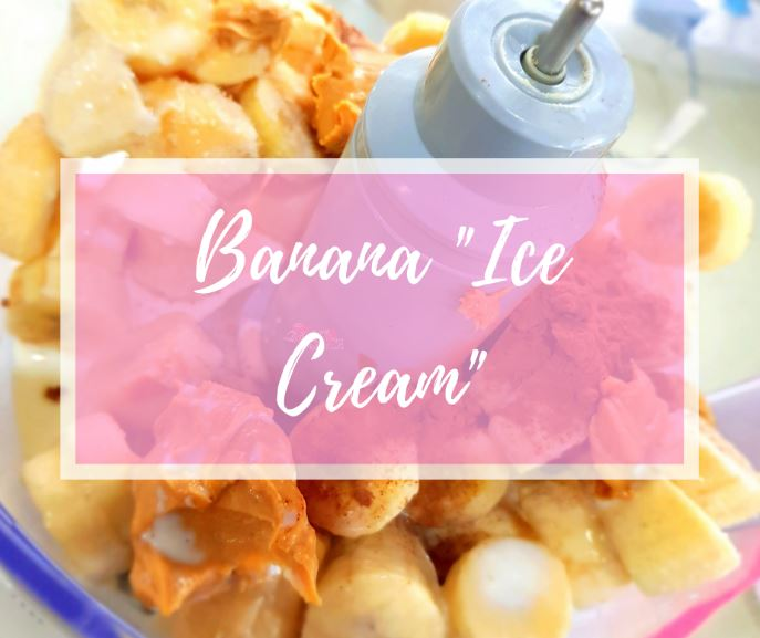 Healthy Ice Cream, Sugar & Spice