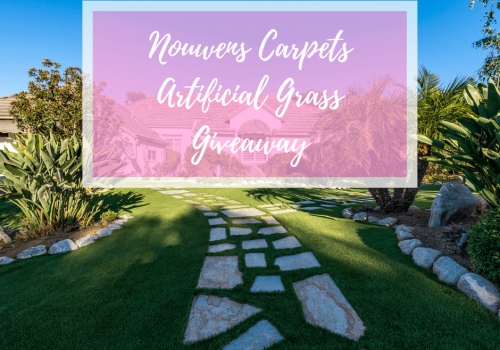 The grass is ALWAYS greener with Nouwens Carpets *GIVEAWAY*