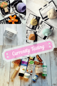 Products I'm currently testing, Sugar & Spice