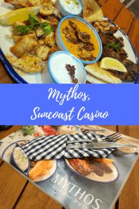 Mythos Greek Restaurant, Suncoast Casino, Sugar & Spice