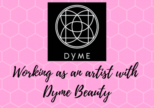 Working with the Dyme Beauty App