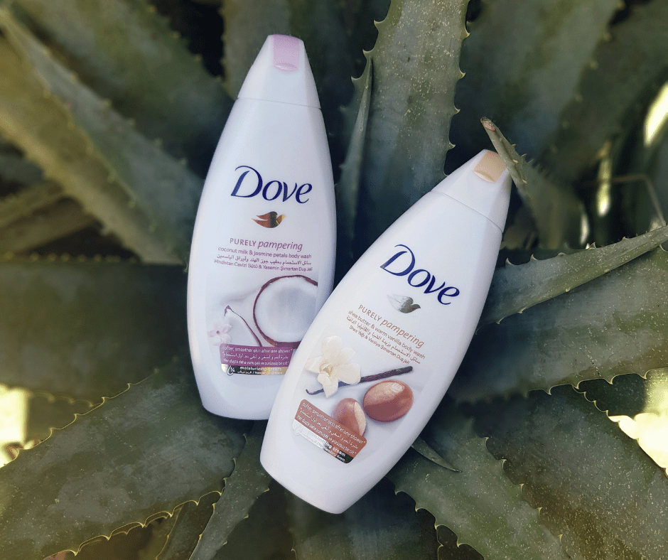 Pamper your skin with Dove, Sugar & Spice