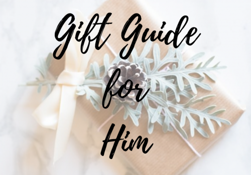 Christmas Gift Guide for Him 2019