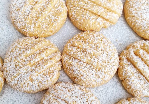 Easy Custard Cookies