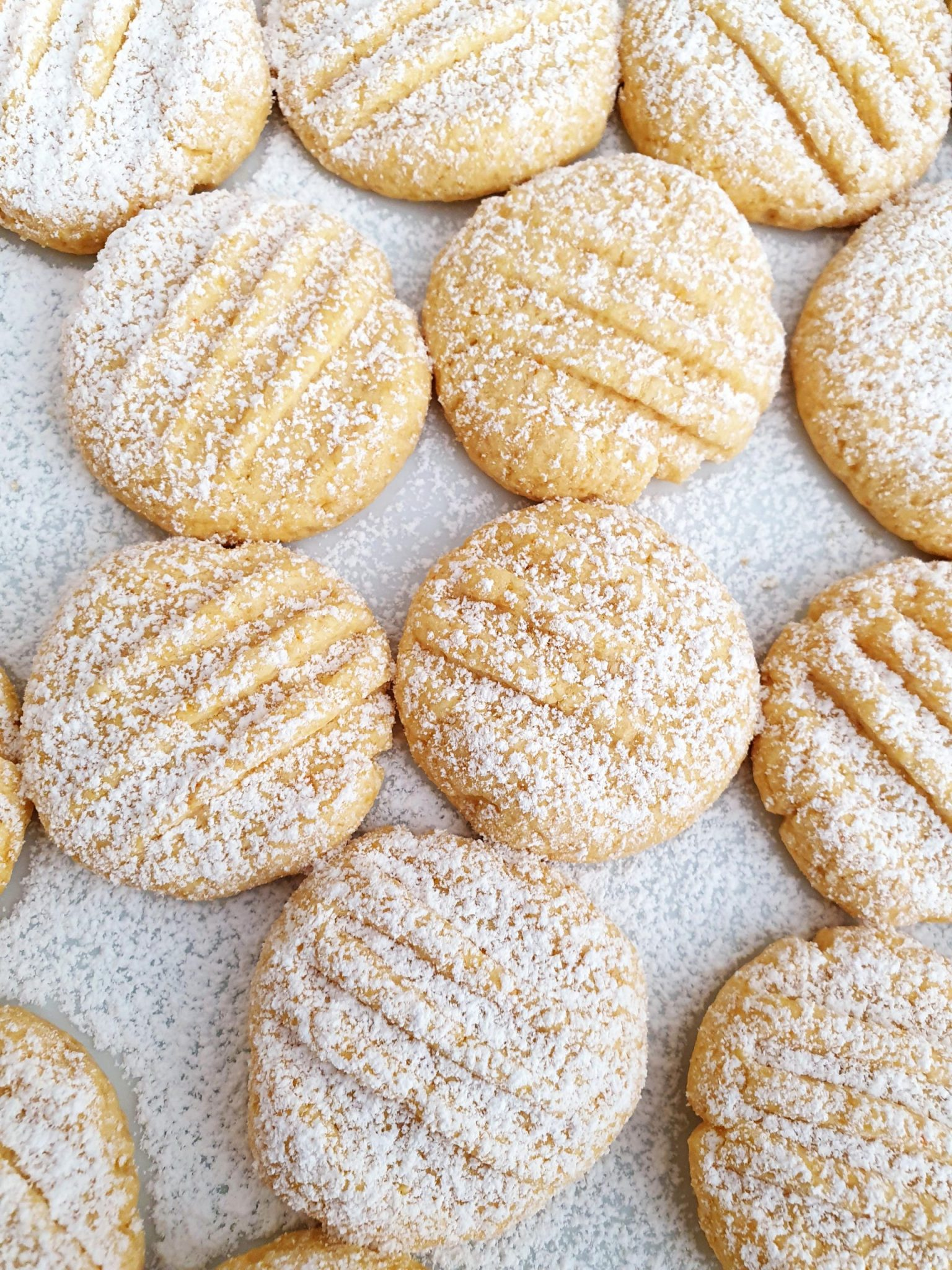Easy Custard Cookies, Sugar & Spice