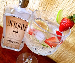 Happy sipping with Musgrave Gin, Sugar & Spice