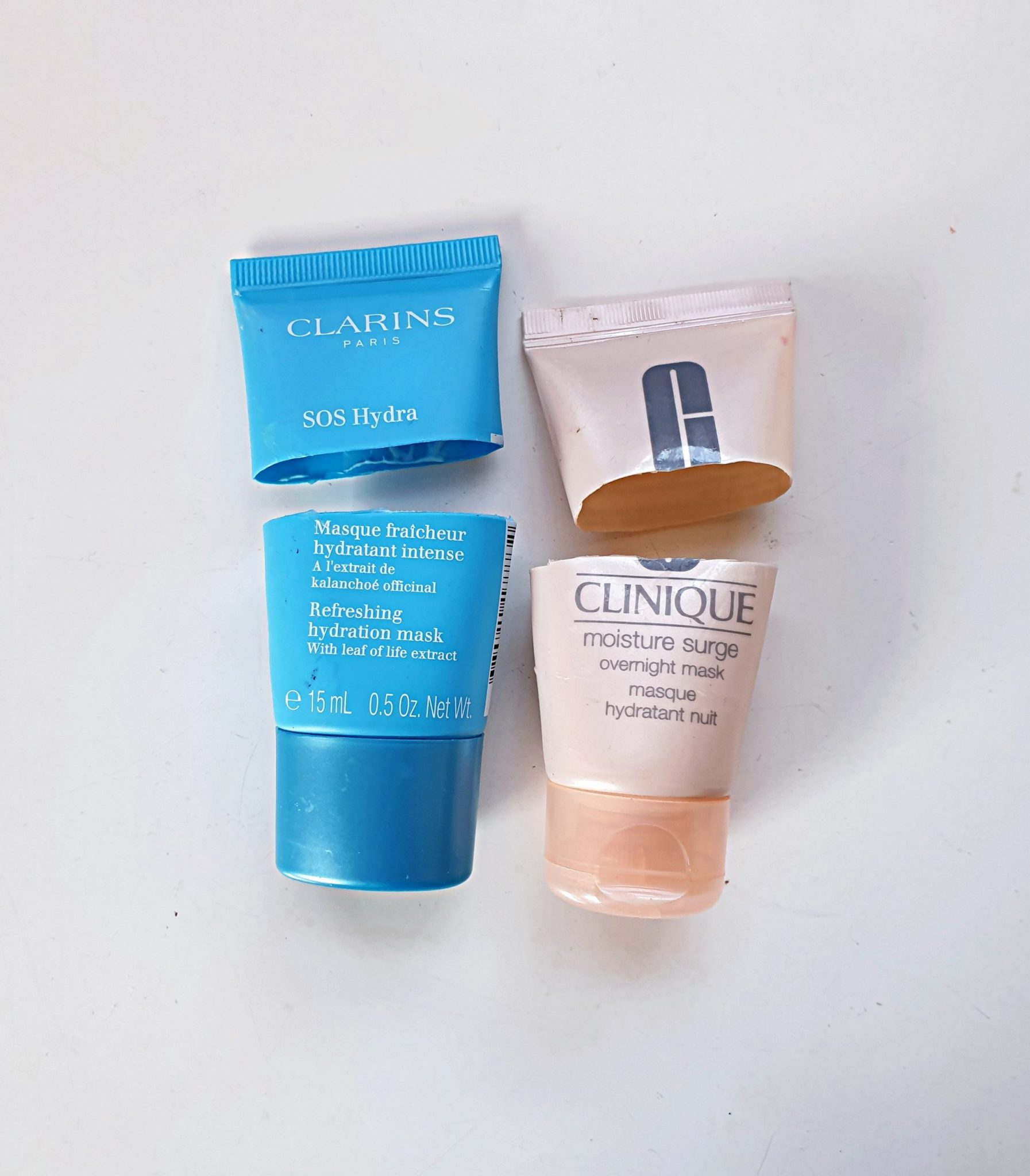 CLARINS AND CLINIQUE MASK EMPTIES