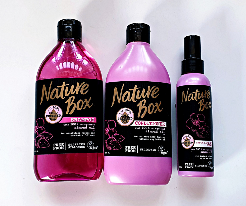 NATURE BOX BEAUTY ALMOND RANGE