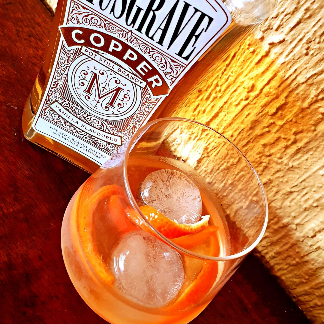 MUSGRAVE COPPER VANILLA BRANDY OLD FASHIONED