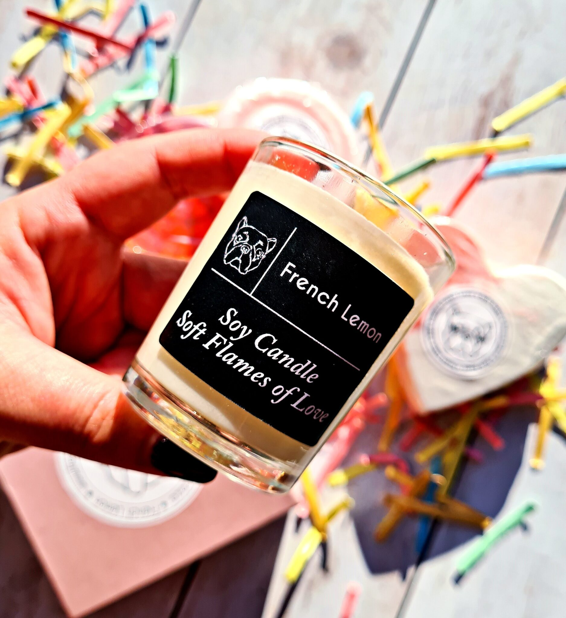 FRENCH LEMON SOFT FLAMES OF LOVE CANDLE