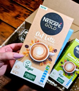 Nescafé Gold Vegan Lattes, Sugar & Spice